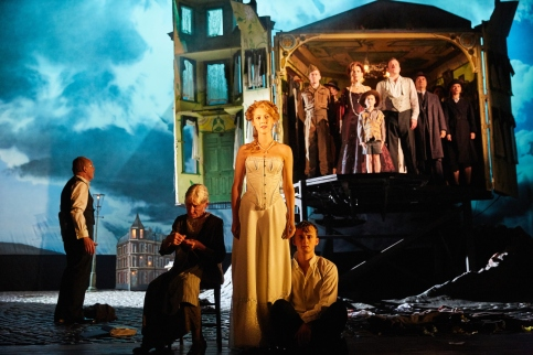 An Inspector Calls at the Playhouse Theatre -The Cast of An Inspector Calls - Photo by Mark Douet.jpg