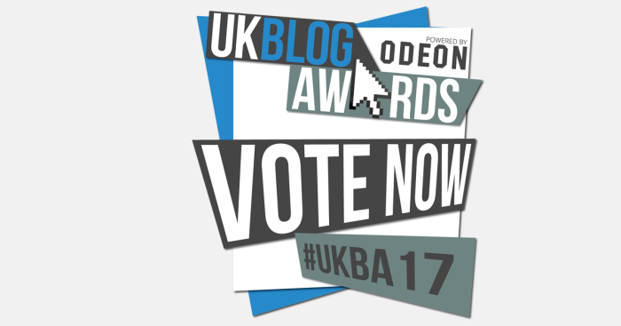 UK Blog Awards 2017; Voting now open