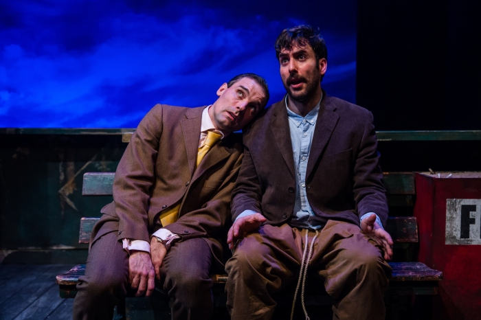 Nick Barber (Milt), Harry (Charles Dorfman) in Buckland Theatre Company's LUV at Park Theatre. Credit The Other Richard.JPG.JPG