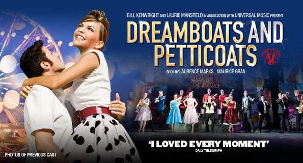 Full casting announced for 10th anniversary Dreamboats and Petticoats UK Tour