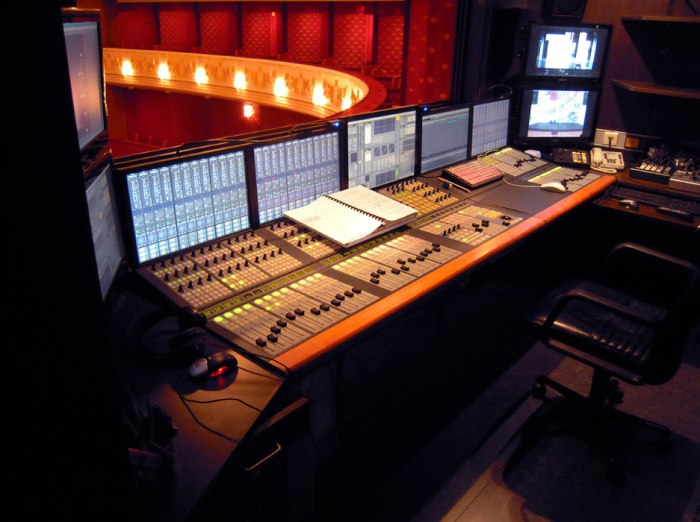 Let's talk about Sets; Sound in thetheatre