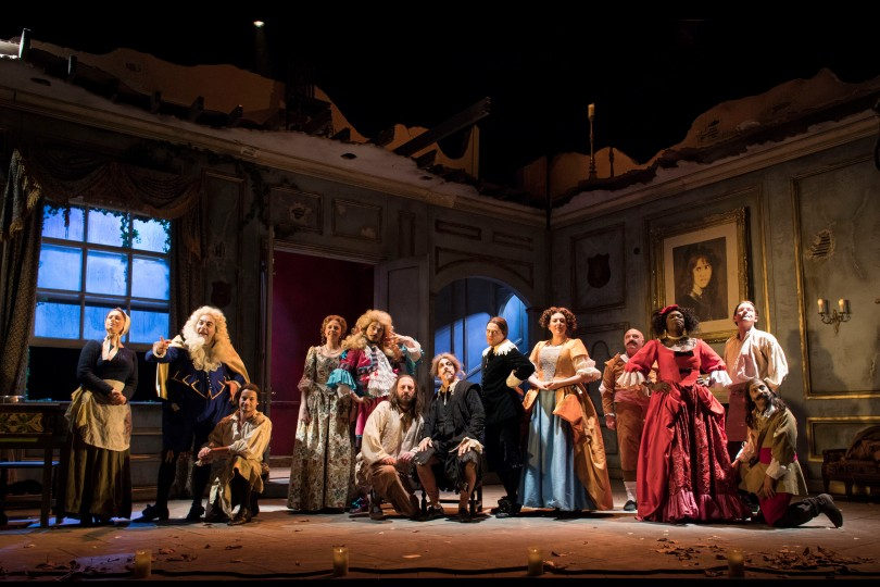 The cast of The Miser at the Garrick Theatre. Credit Helen Maybanks. (1).jpg