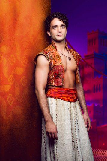Aladdin - Prince Edward Theatre. Matthew Croke (Aladdin) -® Disney 10700