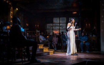 Audra McDonald as Billie Holiday in Lady Day at Emerson's Bar & Grill at the Wyndham's Theatre until 9 September 2017. CREDIT Marc Bren