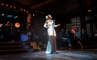 Audra McDonald as Billie Holiday in Lady Day at Emerson's Bar & Grill at the Wyndham's Theatre until 9 September 2017. CREDIT Marc Brenner