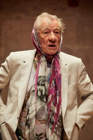 Ian McKellen at the Park Theatre 2017