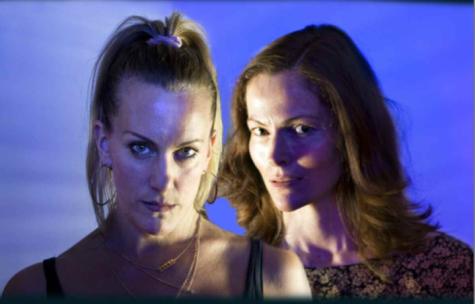 Lisa Gorgin and Selina Giles in The Wasp