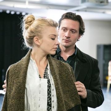 Natalie-Dormer-and-David-Oakes-David-Oakes-in-rehearsal-for-Venus-In-Fur-2