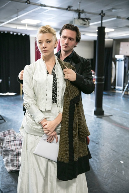 Natalie-Dormer-and-David-Oakes-David-Oakes-in-rehearsal-for-Venus-In-Fur