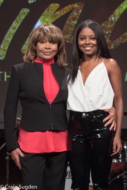5. l-r Tina Turner, Adrienne Warren