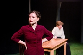 Emily Tucker and JuliaWatson in After the Ball, credit of Mitzi de Margary.
