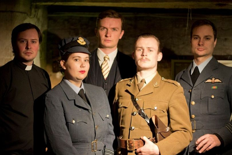 Michael Thomas, Zoe Flint, Peter Dewhurst, Christopher Russenberger and Edward Andrews in For King and Country, courtesy of Owen Kingston_preview.jpeg