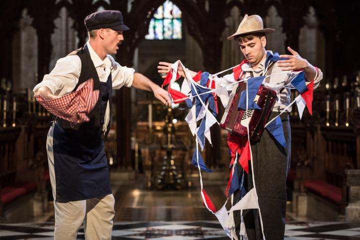 Louis Bernard as Dogberry, Scott Brooks as Verges - Photo Scott Rylander