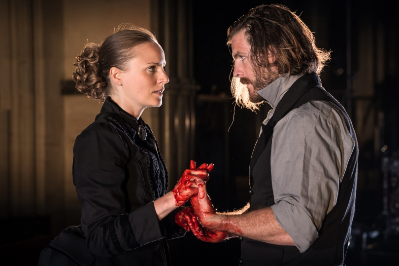 Antic Disposition's Macbeth, Helen Millar and Harry Anton (Credit Scott Rylander)